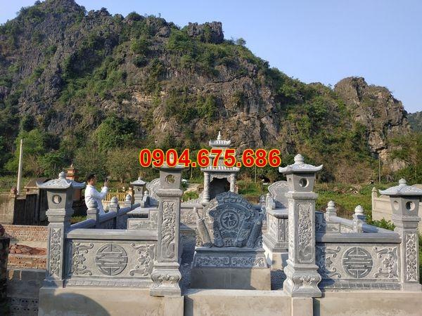 Lăng mộ đá xanh đẹp nhất giá hợp lý thiết kế cao cấp