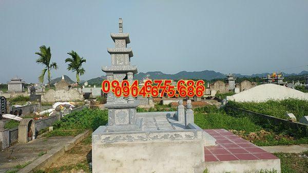 Lăng mộ đá xanh đẹp nhất giá tốt thiết kế cao cấp