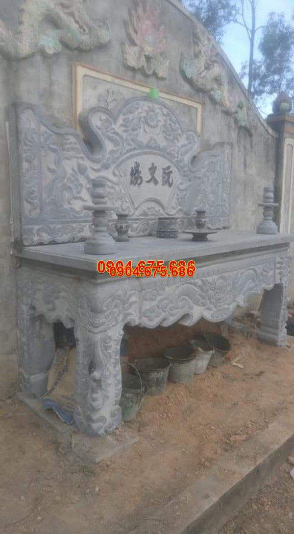Bàn lễ đá khối đẹp chất lượng cao giá tốt thiết kế cao cấp