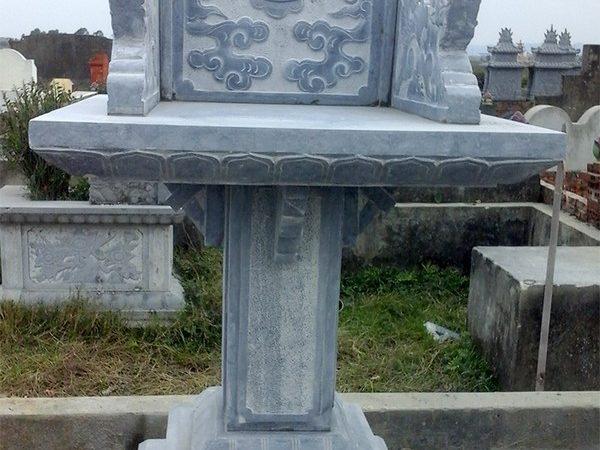 Bàn thờ thiên đá xanh đẹp chất lượng tốt giá hợp lý thiết kế đơn giản