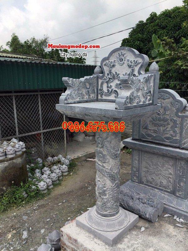 Bàn thờ thiên đá xanh đẹp nhất chất lượng cao giá rẻ thiết kế hiện đại