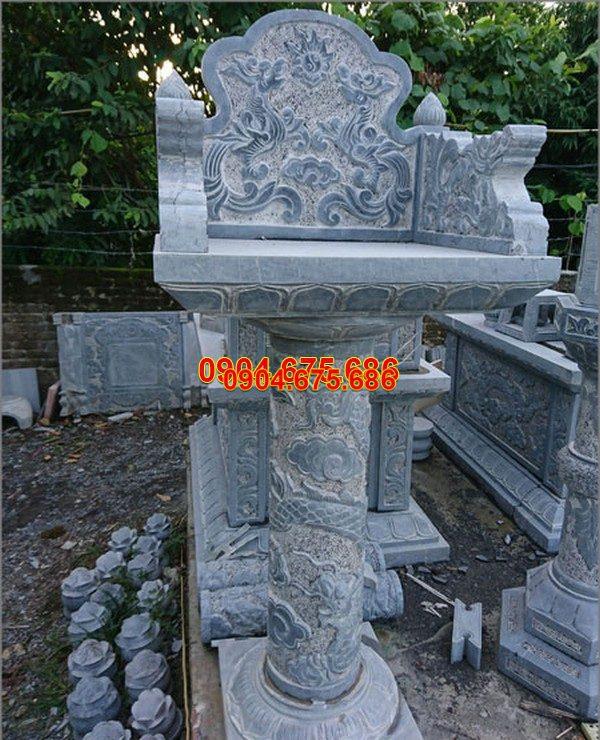 Bàn thờ thiên đá xanh đẹp nhất chất lượng cao giá rẻ thiết kế cao cấp