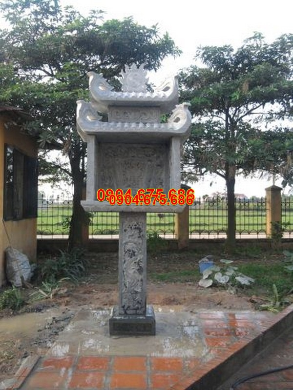 Bàn thờ thiên đá xanh đẹp nhất chất lượng cao giá tốt thiết kế hiện đại