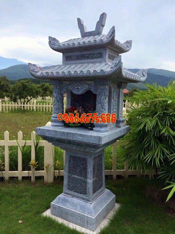 Bàn thờ thiên đá xanh đẹp nhất chất lượng cao giá tốt thiết kế cao cấp
