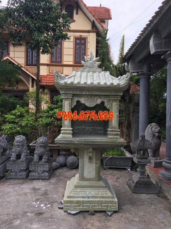 Bàn thờ thiên đá xanh đẹp nhất chất lượng cao giá tốt thiết kế đơn giản