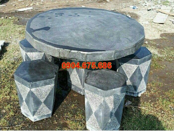 Bộ bàn ghế đá bao nhiêu tiền ? Báo giá bộ bàn ghế đá chi tiết mới nhất 2019
