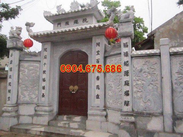 Cổng tam quan đá đẹp nhất chất lượng cao giá rẻ thiết kế cao cấp