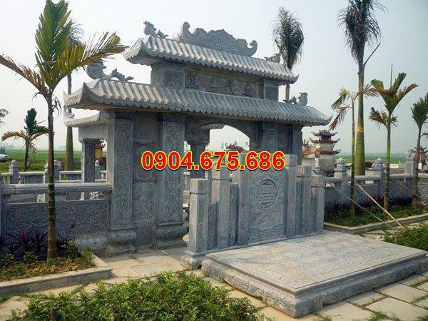 Cổng tam quan đá đẹp nhất chất lượng cao giá tốt thiết kế hiện đại