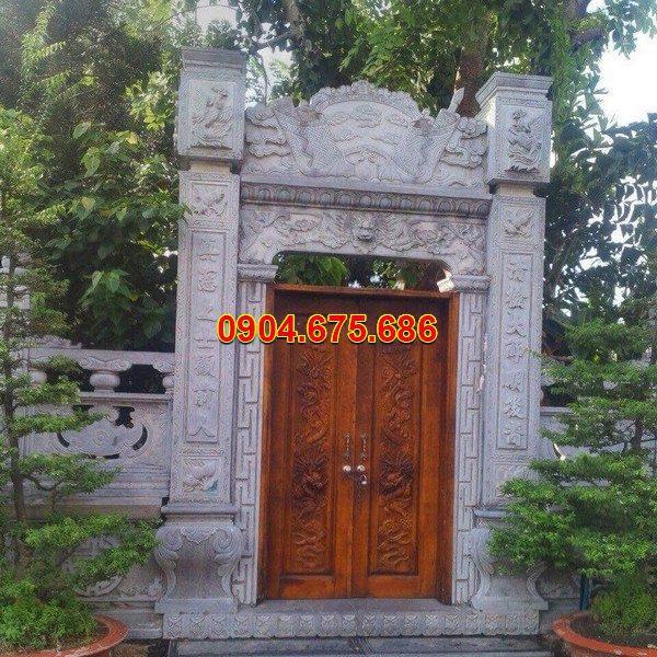 Cổng tam quan đá đẹp nhất chất lượng cao giá tốt thiết kế đơn giản
