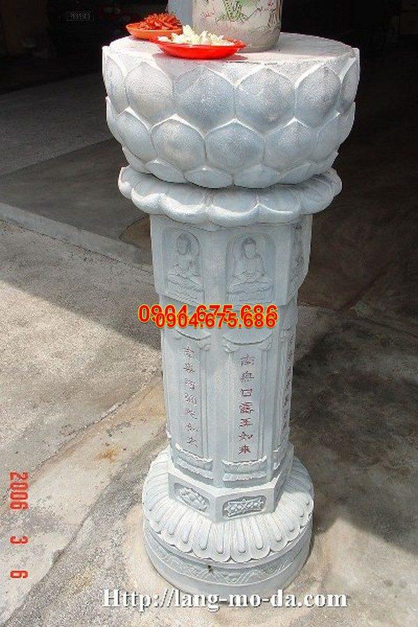 Cột đá tự nhiên chạm khắc tinh tế chất lượng cao giá tốt