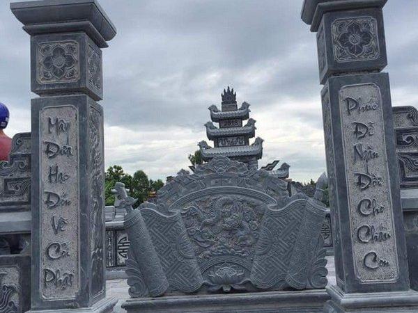 Cột đá tự nhiên hoa văn tinh xảo chất lượng cao giá tốt