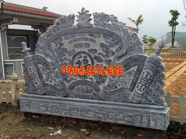 Mẫu cuốn thư đá chấn phong thủy chạm khắc tinh tế chất lượng cao giá hợp lý