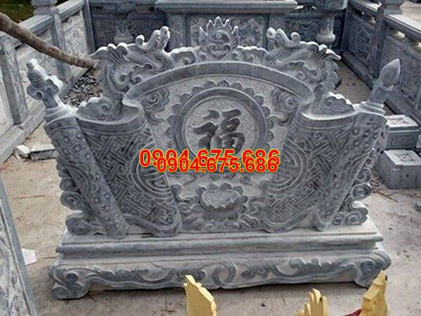 Mẫu cuốn thư đá chấn phong thủy chạm khắc tinh tế chất lượng tốt giá rẻ