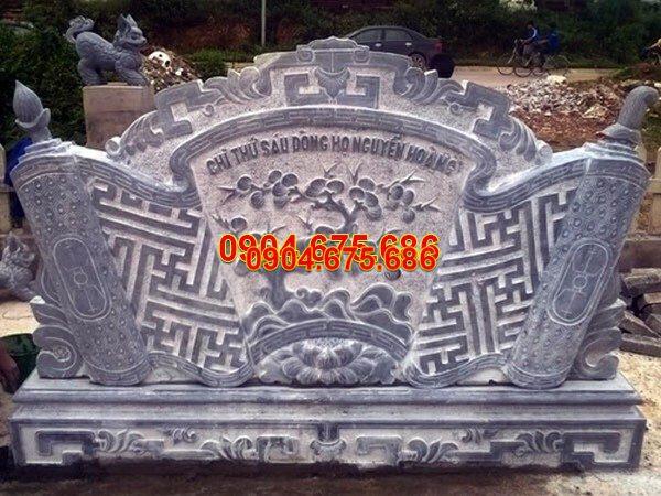 Mẫu cuốn thư đá chấn phong thủy chạm khắc tinh tế chất lượng tốt giá hợp lý