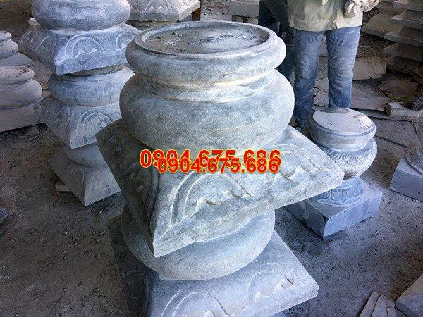 Đá kê chân cột chạm khắc đẹp chất lượng cao giá rẻ