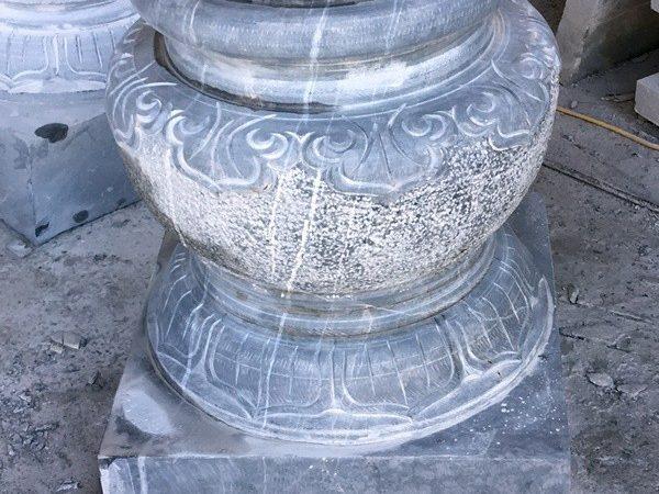 Đá kê chân cột chạm khắc đẹp chất lượng cao giá tốt