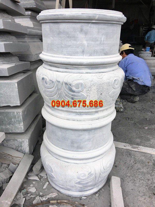Đá kê chân cột chạm khắc tinh tế chất lượng cao giá rẻ