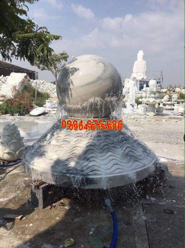 Đài phun nước đá mỹ nghệ đẹp chất lượng cao giá rẻ