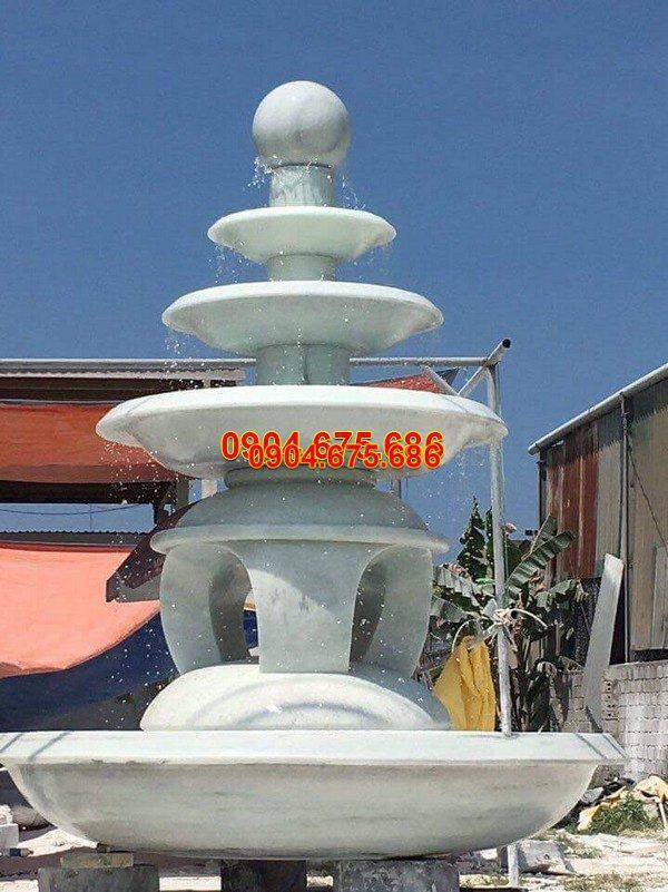 Đài phun nước đá mỹ nghệ đẹp chất lượng cao giá tốt