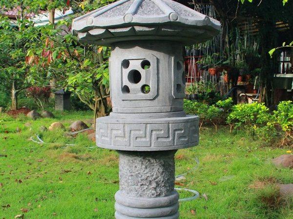 Đèn đá tự nhiên đẹp thiết kế đơn giản giá rẻ