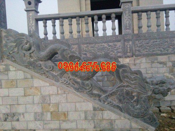 Lan can đá mỹ nghệ hoa văn tinh xảo chất lượng cao giá rẻ