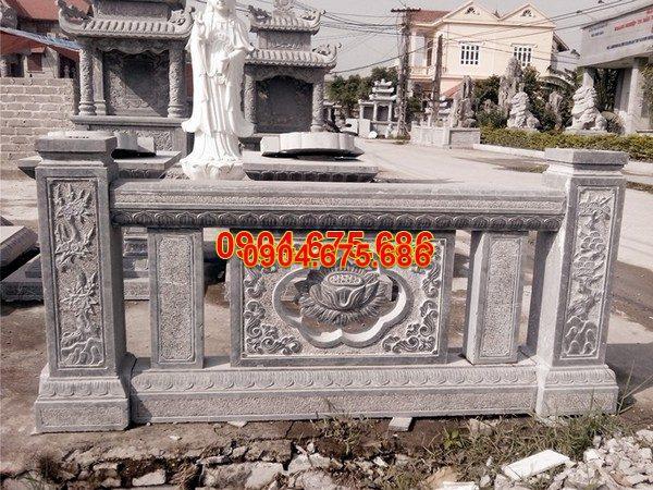 Lan can đá mỹ nghệ chạm khắc tinh tế chất lượng tốt giá rẻ