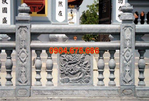 Lan can đá mỹ nghệ chạm khắc tinh tế chất lượng tốt giá tốt