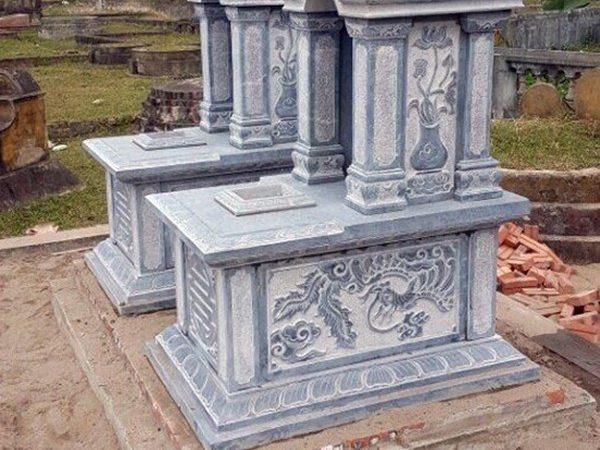 Lăng mộ đá xanh đẹp nhất thiết kế cao cấp