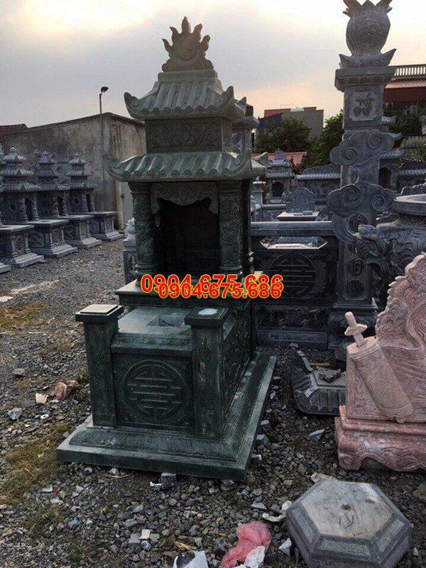 Lăng mộ đá xanh đẹp nhất giá rẻ thiết kế cao cấp