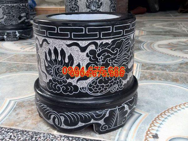 Bát hương đá xanh đẹp nhất chất lượng cao giá tốt thiết kế hiện đại