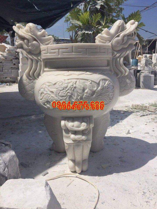 Lư hương đá đẹp thiết kế cao cấp giá hợp lý