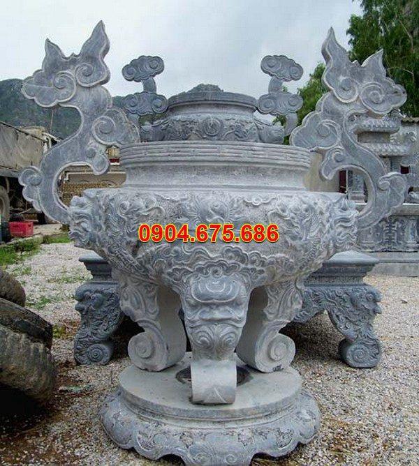 Lư hương đá chạm khắc tinh tế chất lượng cao giá rẻ