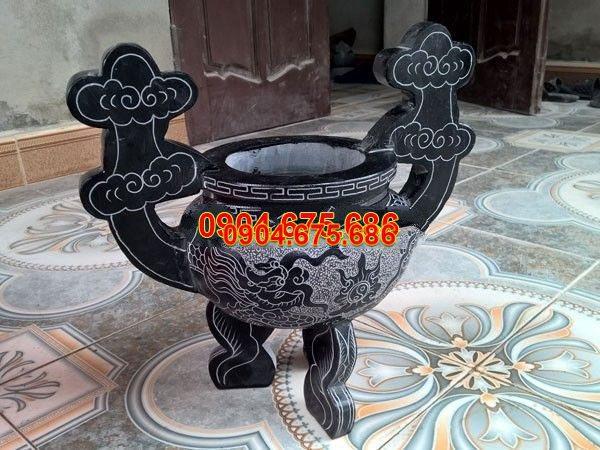 Lư hương đá chạm khắc tinh tế chất lượng tốt giá rẻ