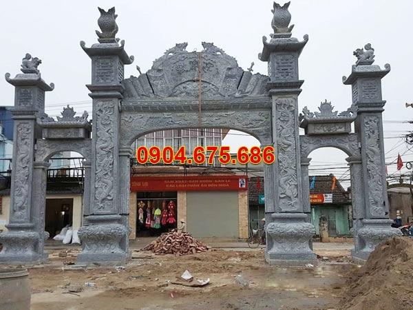 Cột đá vuông làm trụ cổng đẹp nhất