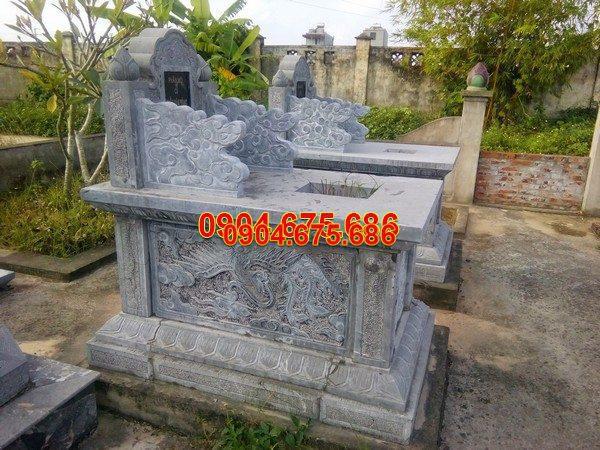 Mộ đá bành đẹp thiết kế cao cấp chất lượng tốt giá rẻ