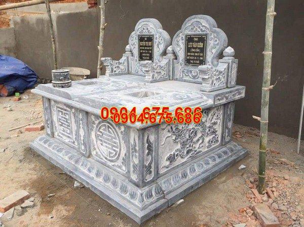 Mộ đá bành nguyên khối đẹp nhất chất lượng cao giá tốt thiết kế cao cấp