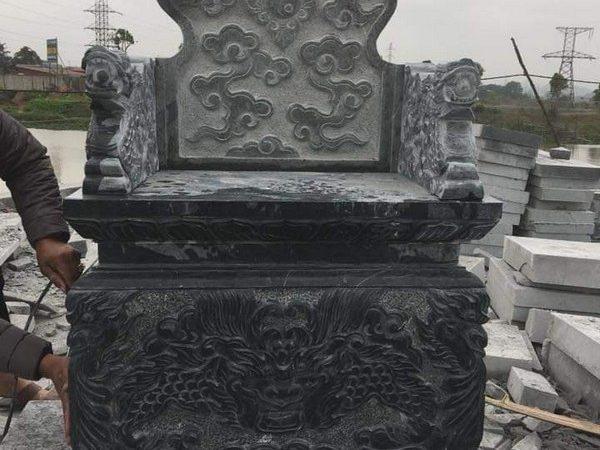 Mộ đá bành nguyên khối đẹp nhất chất lượng cao giá hợp lý thiết kế cao cấp