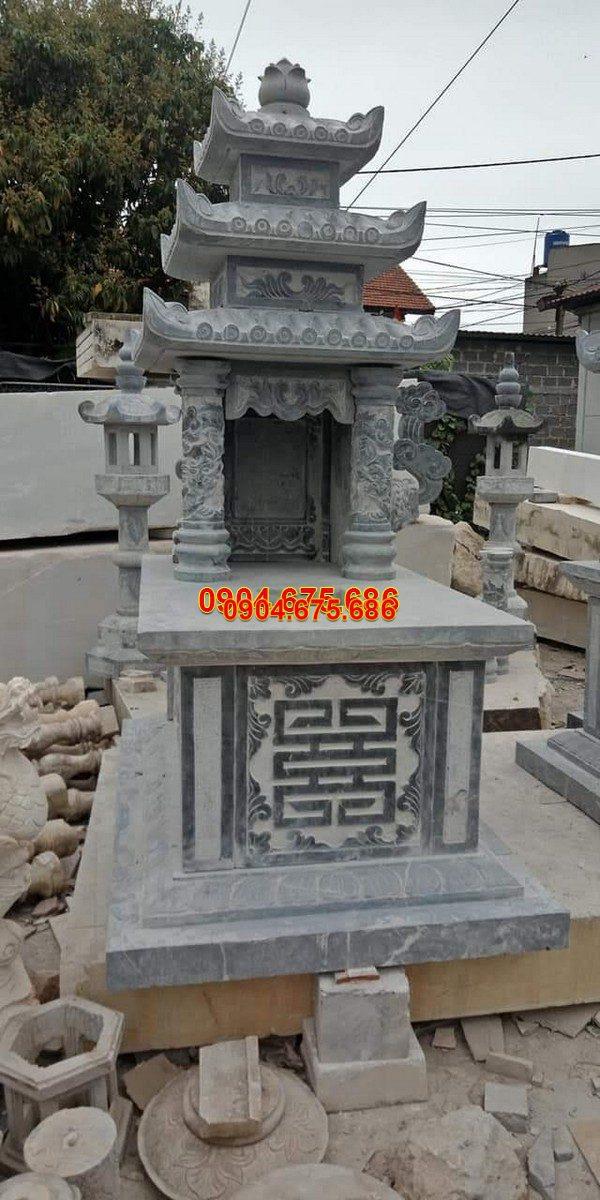 Mộ đá ba mái đẹp thiết kế cao cấp chất lượng tốt giá tốt