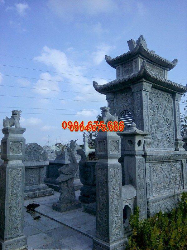 Mộ đá hai mái đẹp thiết kế cao cấp chất lượng tốt giá rẻ