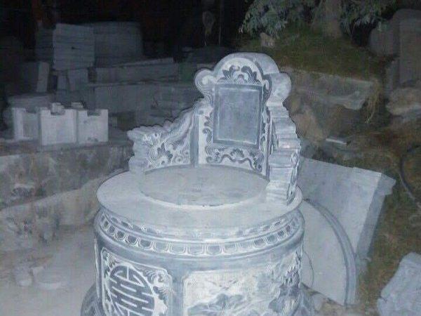 Mộ đá tròn đẹp chuẩn kích thước lỗ ban chất lượng cao giá hợp lý