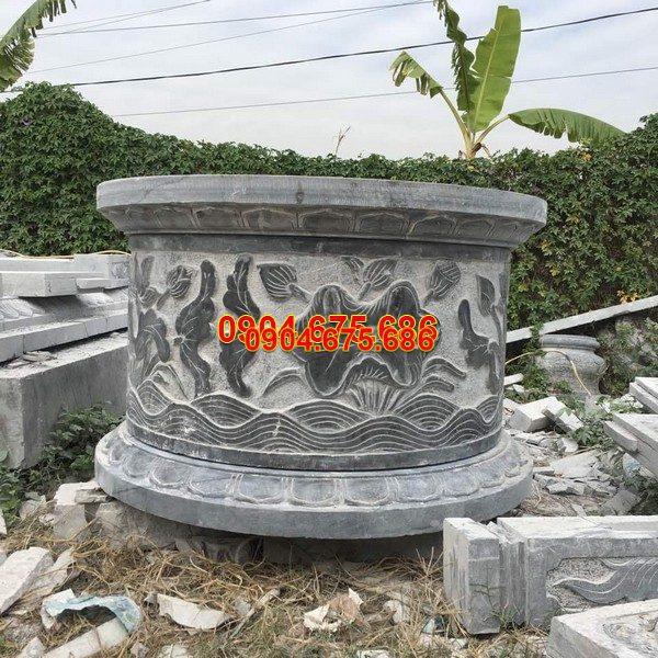 Mộ đá tròn đẹp chuẩn kích thước lỗ ban chất lượng cao giá rẻ