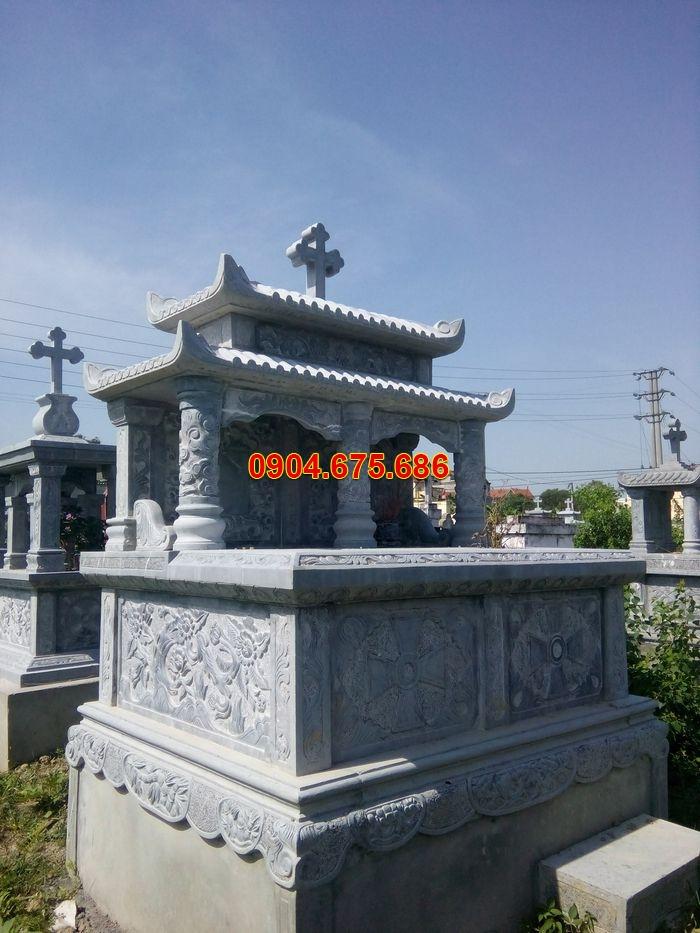 mộ đá đôi, mộ đá công giáo, mộ đá đôi công giáo