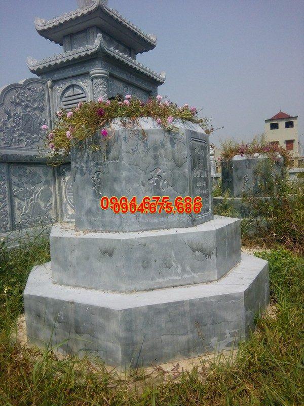 Mẫu mộ đá tam cấp đẹp thiết kế hiện đại chất lượng cao giá rẻ
