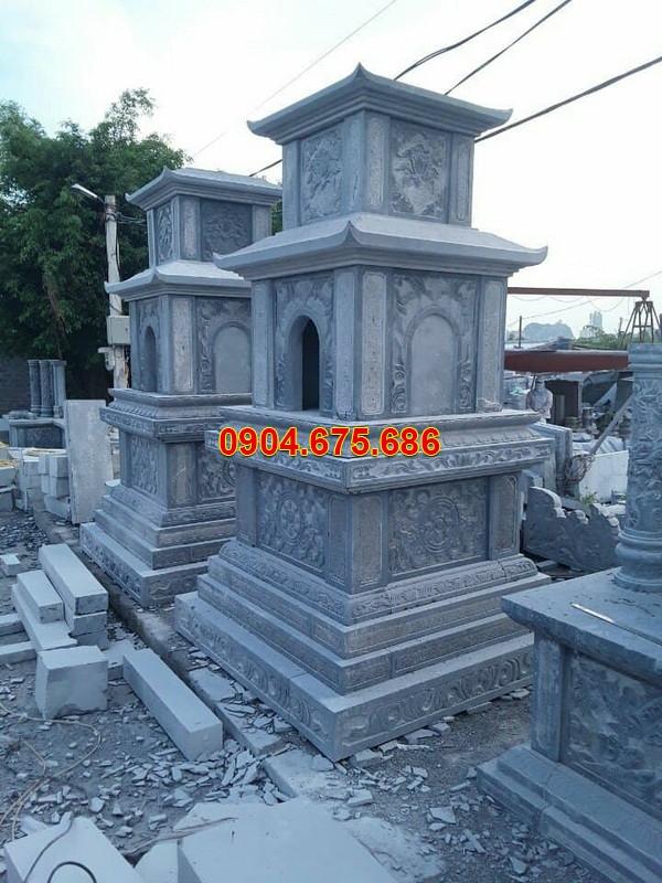 Mẫu mộ đá tháp đẹp thiết kế hiện đại chất lượng tốt giá hợp lý