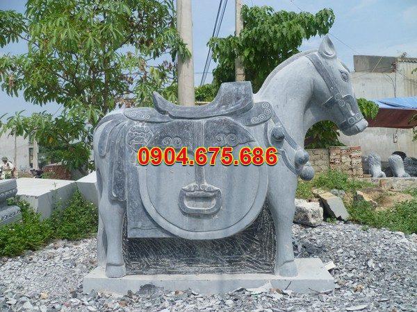 Tượng ngựa đá phong thủy đẹp chất lượng tốt giá tốt