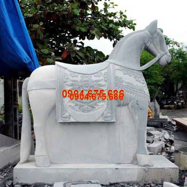 Tượng ngựa đá phong thủy đẹp nhất chất lượng cao giá rẻ