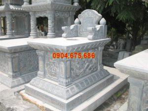 Những mẫu mộ đẹp đơn giản bằng đá xanh ở Việt Nam - daninhbinh.vn