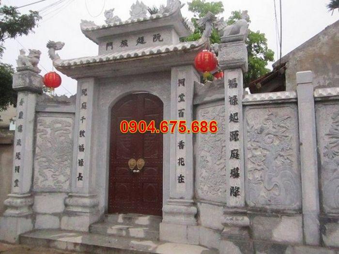 Quan niệm về cổng chùa xưa và những mẫu cổng chùa bằng đá đẹp 2019