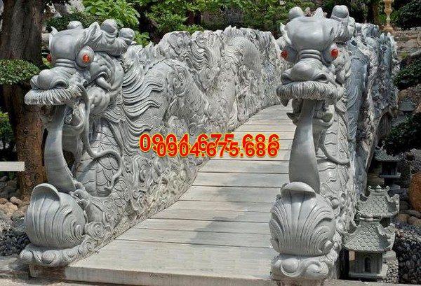 Rồng đá khối tự nhiên chạm khắc đẹp chất lượng cao giá rẻ
