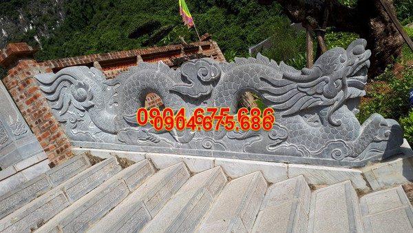 Rồng đá khối tự nhiên chạm khắc đẹp chất lượng cao giá tốt